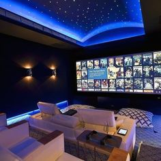 Various home theater seating options for you to explore. See a lot even more ideas worrying Home theater seats, Home theater and also Theater seating #hometheater #homecinema #hometheaterseats #hometheaterseating #hometheaterprojector Home Theater Room Design, Movie Theater Rooms, Home Cinema Room, Game Room Design, Home Theater Seating, Home Design, Design Ideas, Studio Design, Home Theatre
