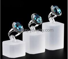 Customized jewelry shop display acrylic jewelry display stand display racks for retail stores RDJ-045
