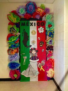 Hispanic Heritage Door Decor by Anita Minguela