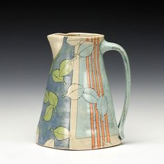 kristin schoonover pottery click the image for more details. Pottery Teapots, Pottery Plates, Slab Pottery, Ceramic Pottery, Ceramic Pitcher, Ceramic Pots, Ceramic Clay, Pottery Painting, Ceramic Painting