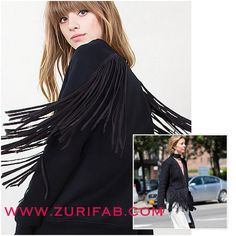 This fringe sweatshirt says fun and fancy all at the same time! Get this top and other great fashion statement pieces online now at WWW.ZURIFAB.COM.     WWW.ZURIFAB.COM.     WWW.ZURIFAB.COM.     #shopping #shop #shoponline #POTD #LOTD #OOTD #FASHION #FALL  #FALLTRENDS #FASHIONSTYLE #STYLE #STYLISH #STYLEBLOGGER #fashionblogger #NEW #BOUTIQUE #trendy #BEAUTIFUL #FABULOUS #ZURIFAB