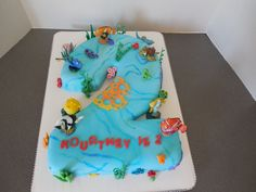 Finding Nemo Age 2 cake