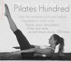 pilates hundred.