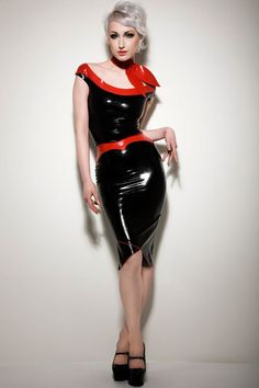 Fifties Style Latex Scarf and Top from our Torture Garden Collection.