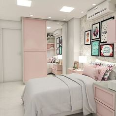 43 cute and girly bedroom decorating tips for girl 18 Girl Bedroom Designs Bedroom Cute Decorating Girl Girly tips Living Room Paint, New Living Room, New Room, Dream Rooms, Dream Bedroom, Bedroom Decorating Tips, Bedroom Ideas, Diy Bedroom, Small Space Bedroom