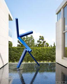 Modern Hamptons Design by Kelly Behun - Kelly Behun Long Island Home - ELLE DECOR