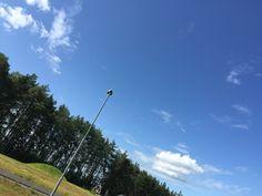 Cielo azul!
