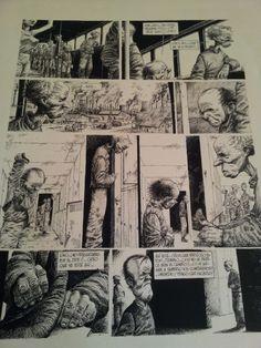 Stratos - Historia 1 pagina 4 par Miguelanxo Prado - Planche originale