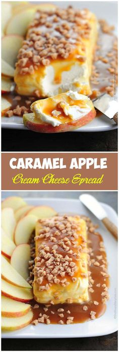 Caramel Apple Cream Cheese Spread More