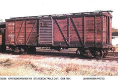 Old Canadian Railway Rolling Stock Old Train Pictures, Railroad Pictures, Ho Trains, Model Trains, Train Info, Canadian Pacific Railway, Railroad History, Rail Car, Ferrat