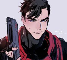 Jason Todd, Red Hood, Dc Universe, Dc Comics, Batman, Superhero, Anime, Fictional Characters, Geeks