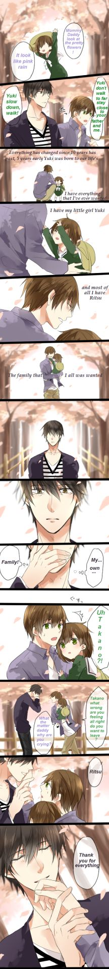 Ritsu x Takano Comic Credit goes to original artist
