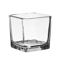 SOOOOO getting these 3x3 vases.  I already purchased 8 of them to test out ideas and they are pretty solid.