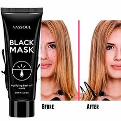 Blackhead Remover Mask Blackhead Mask Blackhead Remover Peel Off Black Mask Deep Pore Cleansing for Face Nose Acne Treatment Oil Control. Extra information could be located at the image url. (This is an affiliate link). Black Peel Off Mask, Charcoal Peel Off Mask, Charcoal Face Mask, Black Mask, Best Blackhead Mask, Best Blackhead Remover, Deep Cleansing Facial, Pore Cleansing, Face Mask For Blackheads