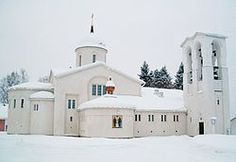 New Valamo or New Valaam (Finnish: Valamon luostari, or more informally, esp. in the postal address: Uusi-Valamo) is an Orthodox monastery in Heinävesi, Finland. The monastery was established in its present location in Places Around The World, Around The Worlds, Where To Go, Finland, Maine, Beautiful Places, Mansions, House Styles, Icons