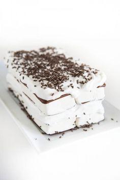 Ice Cream Sandwich Cake by EclecticRecipes.com #recipe
