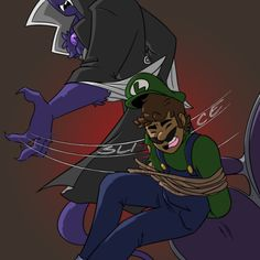 Mario Fan Art, Super Mario Art, Super Mario World, Luigi And Daisy, Mario And Luigi, Mario Bros, Luigi's Mansion 3, King Boo, Mythical Creatures Art