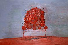 Philip Guston, Cherries II, Oil on Canvas, 1976
