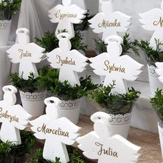 Boy Baptism Centerpieces, Candle Centerpieces, Candles, Corpus Christi, Altar Decorations, First Communion, Christening, Christmas Crafts, Place Card Holders