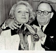 Marlene Dietrich receives Medallion of Honor The State of Israel (1965 )