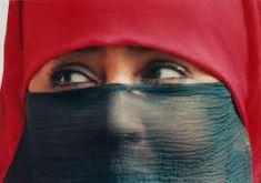 Femme marocaine voilée