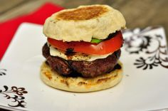 I so want to try this. I love burgers, balsamic glaze and mozarella so all this in a burger = yummy!