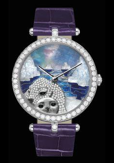 Van Cleef & Arpels seal watch