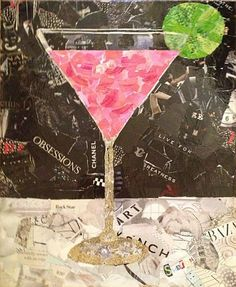 See this image on Sharon Krulak: 16 x 20 Torn paper collage, mixed media, by Sharon Krulak, SOLD