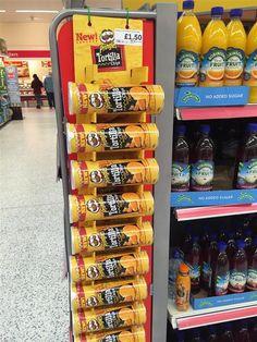 Pringles Fixture Display