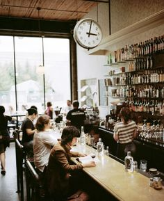 Cafe Presse | Seattle -★- Notes: Open daily 7am-2am, french conversation table 2x a month
