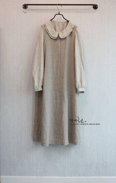 myLin마이,린 - 노칼라 쁘띠 자켓 ... : 카카오스토리 Hijab Style Dress, Dress Up, Simple Dresses, Pretty Dresses, Made Clothing, Linen Dresses, Hijab Fashion, Vintage Dresses, Style Me
