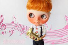 2 pcs / Plastic / Decoden / Blythe Doll Toy / por Supabonbonniere2