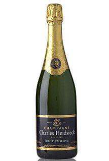Charles Heidsieck Brut Reserve Champagne, $89.00 #champagne #gifts #1877spirits