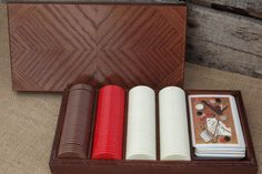 1984 Gallery Originals Poker set with all original pieces! - FREE SHIPPING by theboneyardbuffalo on Etsy