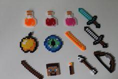 Items similar to Minecraft Perler Bead Cake Toppers-Keychains-Backpack Hangers on Etsy Perler Bead Designs, Easy Perler Bead Patterns, Hama Beads Design, Hama Beads Minecraft, Diy Perler Beads, Minecraft Crafts, Perler Bead Art, Crochet Lego, Perler Bead Disney
