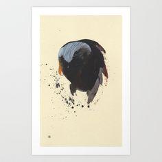 The External Lung Art Print by Heather Goodwind - $20.00