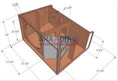 Skema Box 12 inch + Tweeter - ARA AUDIO Woofer Speaker, Speakers, Subwoofer Box Design, Speaker Plans, Speaker Design, Home Theater, Audio, Box Design, Klipsch Speakers