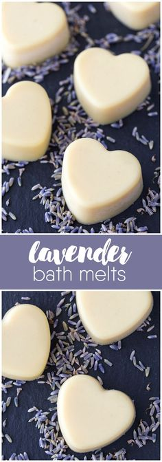 Lavender Bath Melts Lavender Bath Melts – Relax in a bath with the soothing scent of lavender! This easy DIY beauty recipe is only three ingredients and makes a wonderful gift. Homemade Beauty, Diy Beauty, Beauty Care, Beauty Hacks, Diy Cosmetic, Relaxation Gifts, Bath Melts, Beauty Recipe, Diy Skin Care