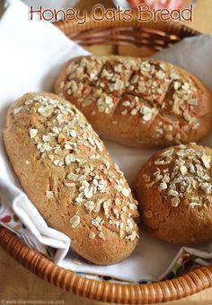 Honey Oats Bread Subway Style Sandwich