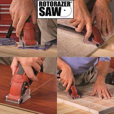 La mini sierra circular te permite cortar de manera rápida muchos tipos de materiales como el acero inoxidable, plástico, aluminio, madera, azulejos, etc
