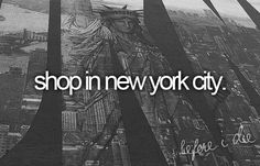 shop in new york city.