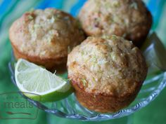 Yogurt Lime Muffins - Once A Month Meals - Freezer Cooking - Freezer Meals - OAMC