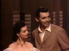 Gone With The Wind Screen test Vivian and Clark