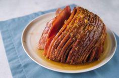 Home for the Holidays Honey Glazed Ham | RecipeLion.com