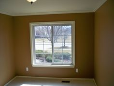 Crown Molding around windows
