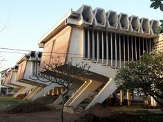 "Modern ""New Khmer Architecture"" Institute of Foreign..."