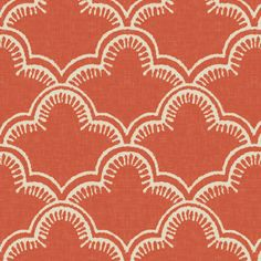 Tangier in Spice fabric by willowlanetextiles on Spoonflower - custom fabric