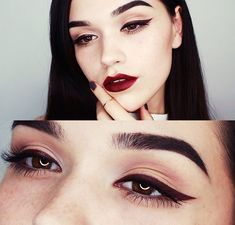 brows/liner/lips