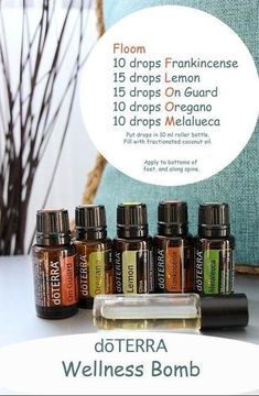 I will always make sure to have this Flu Bomb Roller Recipe on hand. I love using essential oils and natural solutions for my family. by angelina Essential Oils Flu, Essential Oil Diffuser Blends, Essential Oil Uses, Laura Lee, Elixir Floral, Roller Bottle Recipes, Doterra Oils, Doterra Blends, Melaleuca
