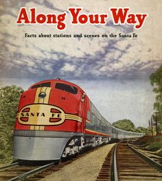 Santa Fe Super Chief Ad.